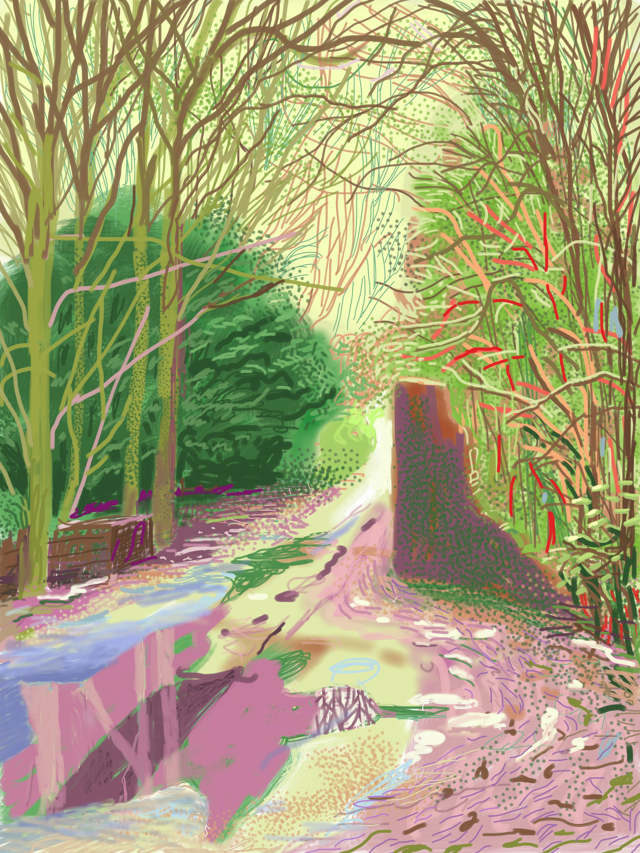 A question on David Hockney?